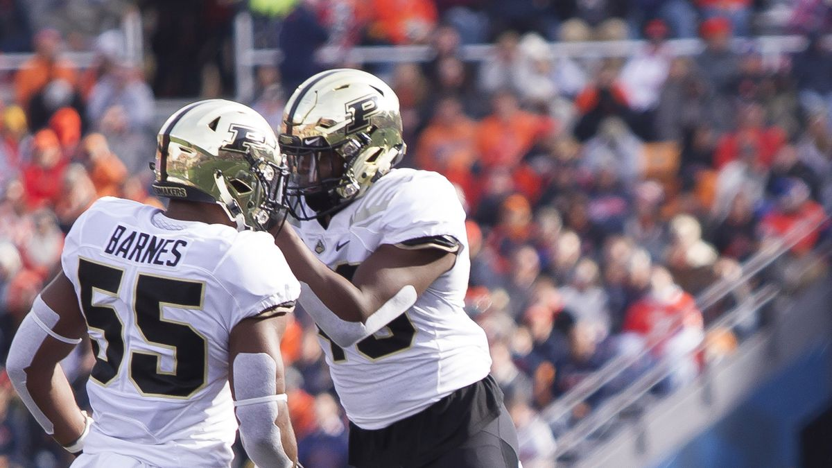 NCAA Football: Purdue at Illinois