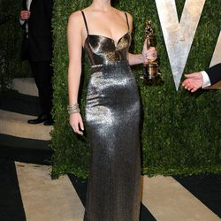 In Calvin Klein, J Law shuts it down once again but in an entirely new way. So versatile, this one.