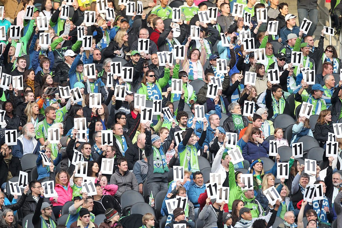Hate <strong>Seattle Sounders</strong> fans all you want, (and I do) but they are certainly knowledgable and passionate. They're not the only ones that miss their start winger <strong>Steve Zakuani</strong>, though; their team does, too.