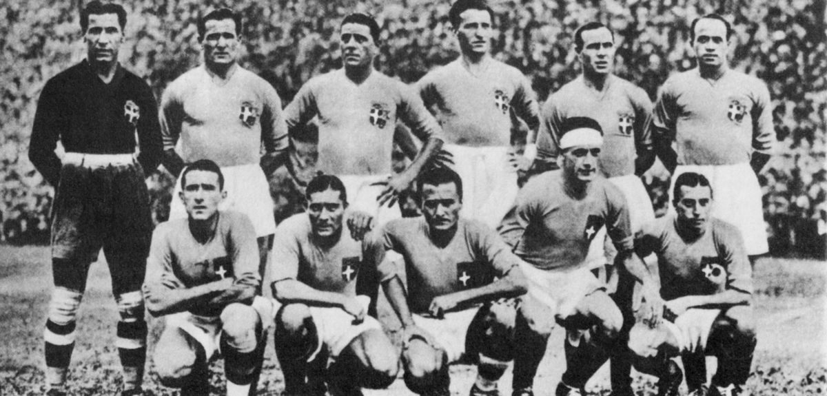 Soccer - FIFA World Cup 1934 - Final - Italy v Czechoslovakia - Stadio Nazionale del PNF