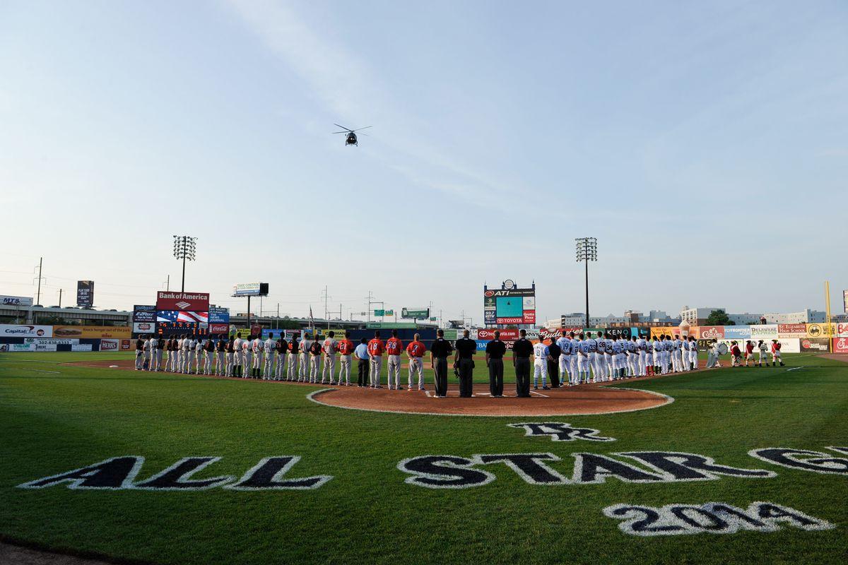 MiLB: JUN 17 2014 California League-Carolina League All-Star Game