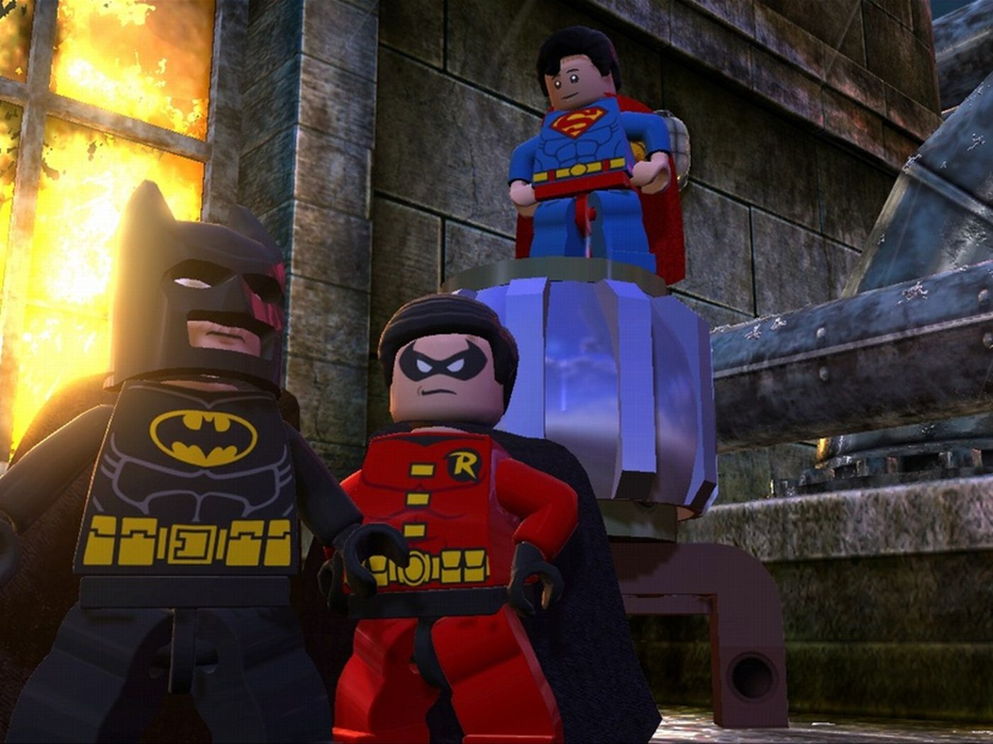 Lego Batman 2 Dc Super Heroes Gets Downloadable Heroes And Villains Polygon