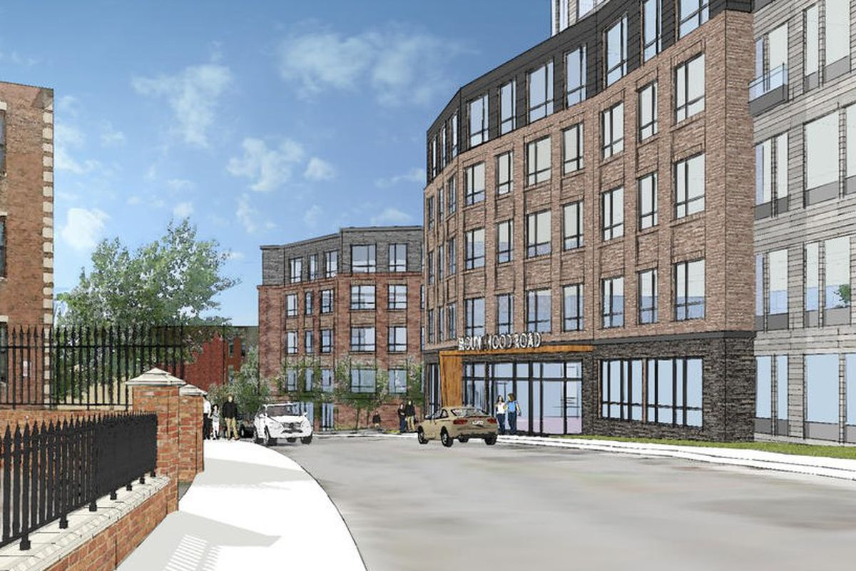 Brighton residential development would replace three-building Hotel Boston