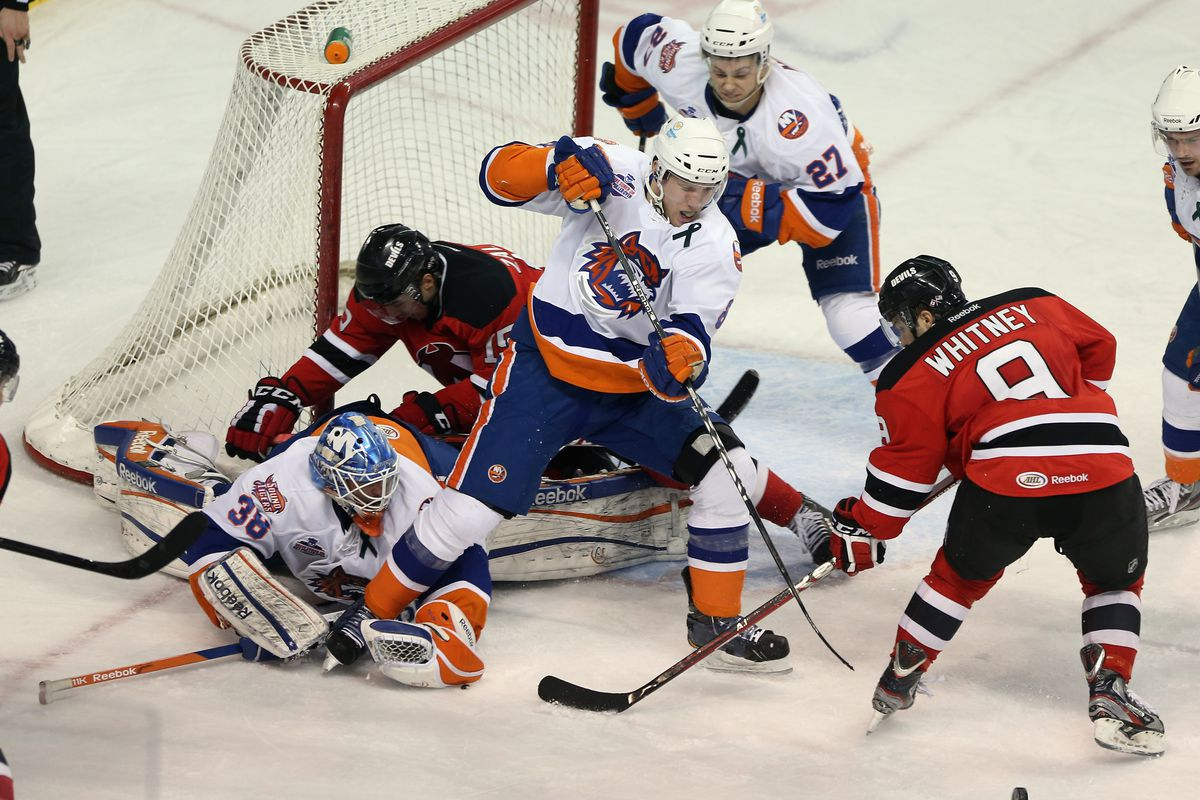 The Albany Devils have fallen onto tough times thanks to the Bridgeport Sound Tigers.