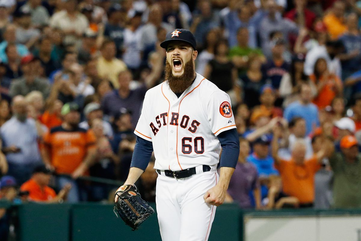 Astros pitcher Dallas Keuchel's dominance of the Yankees in