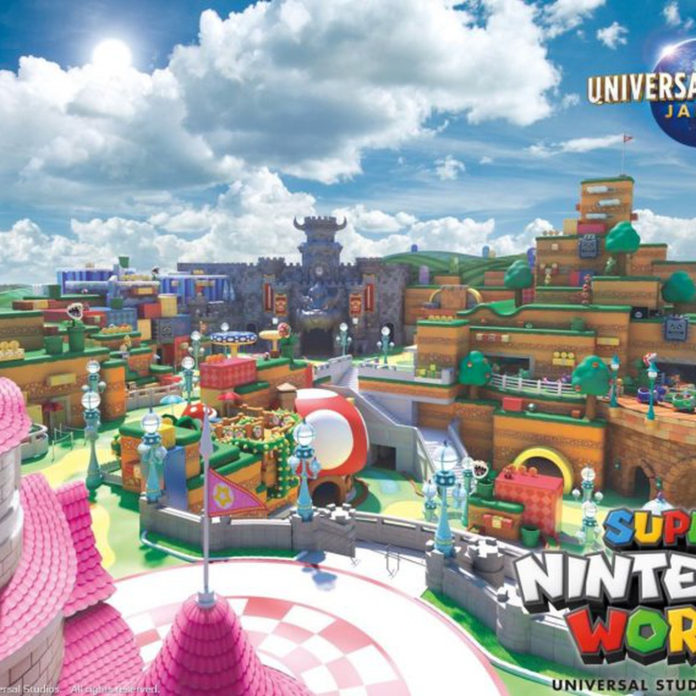 Japan S Super Nintendo World Theme Park Will Feature Smart Mario Themed Wristbands The Verge
