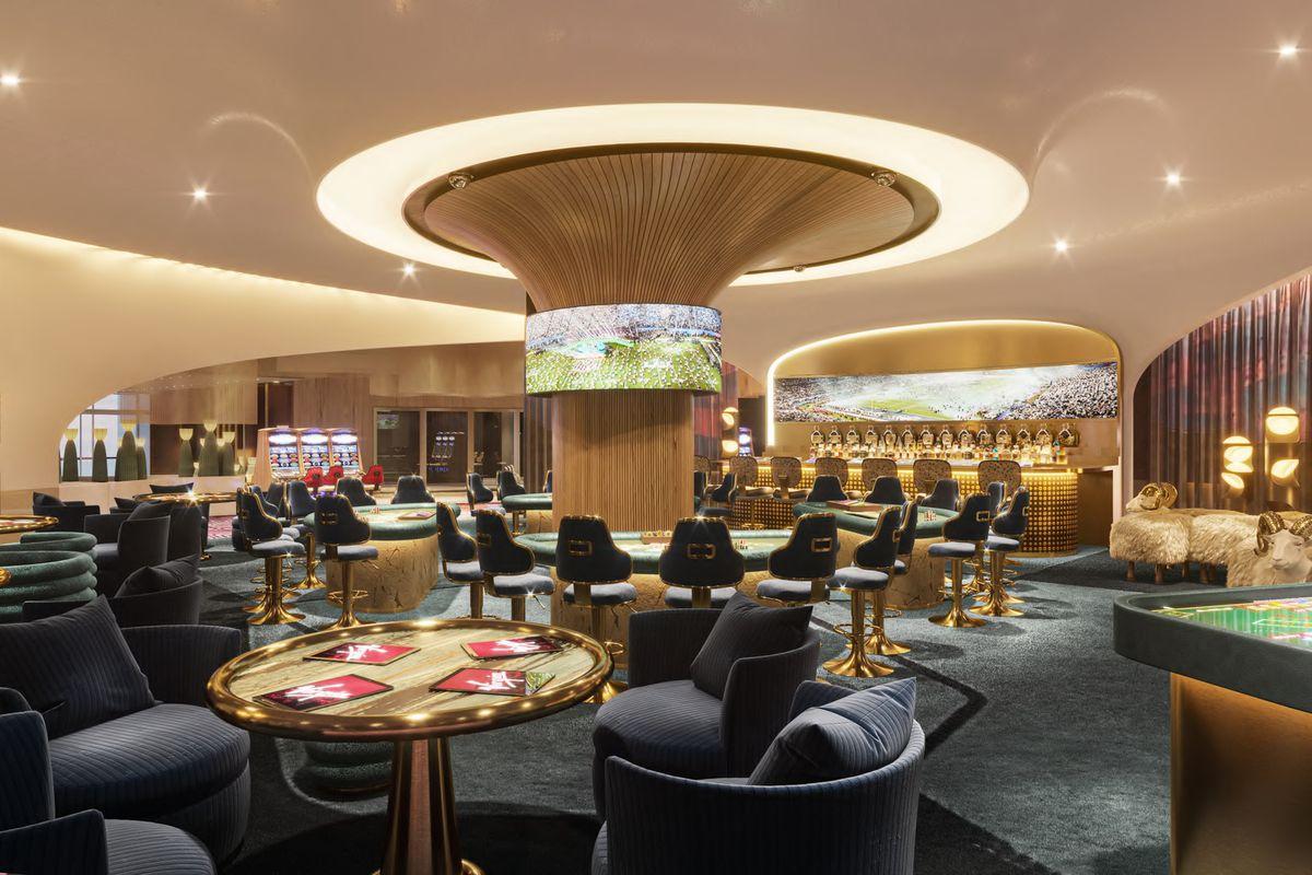 A casino bar