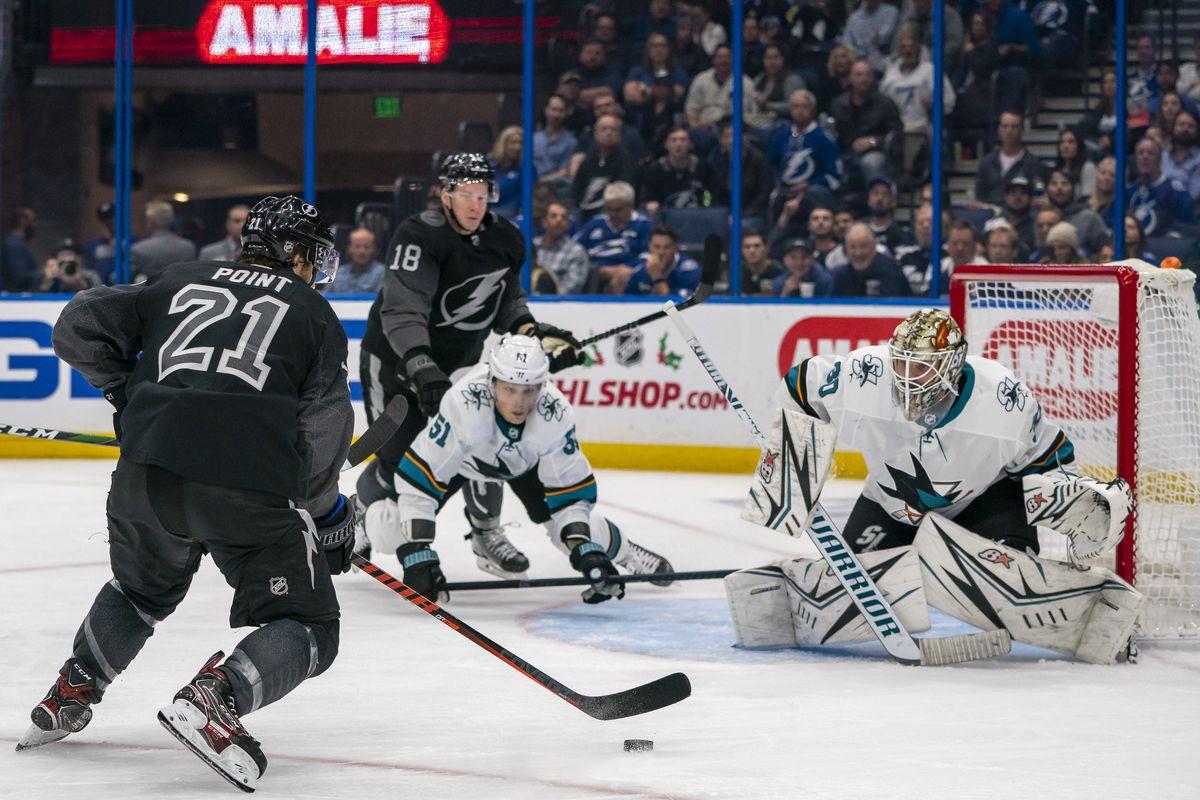 NHL: DEC 07 Sharks at Lightning