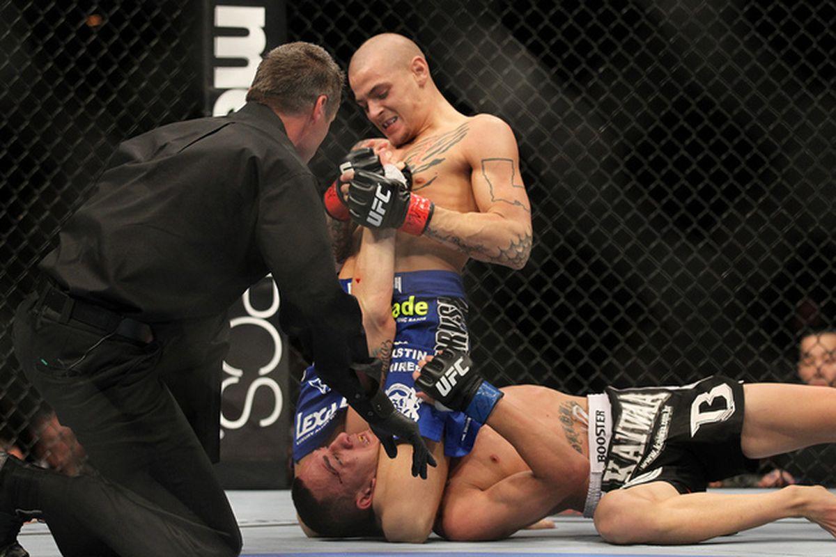UFC 143 Dustin Poirier