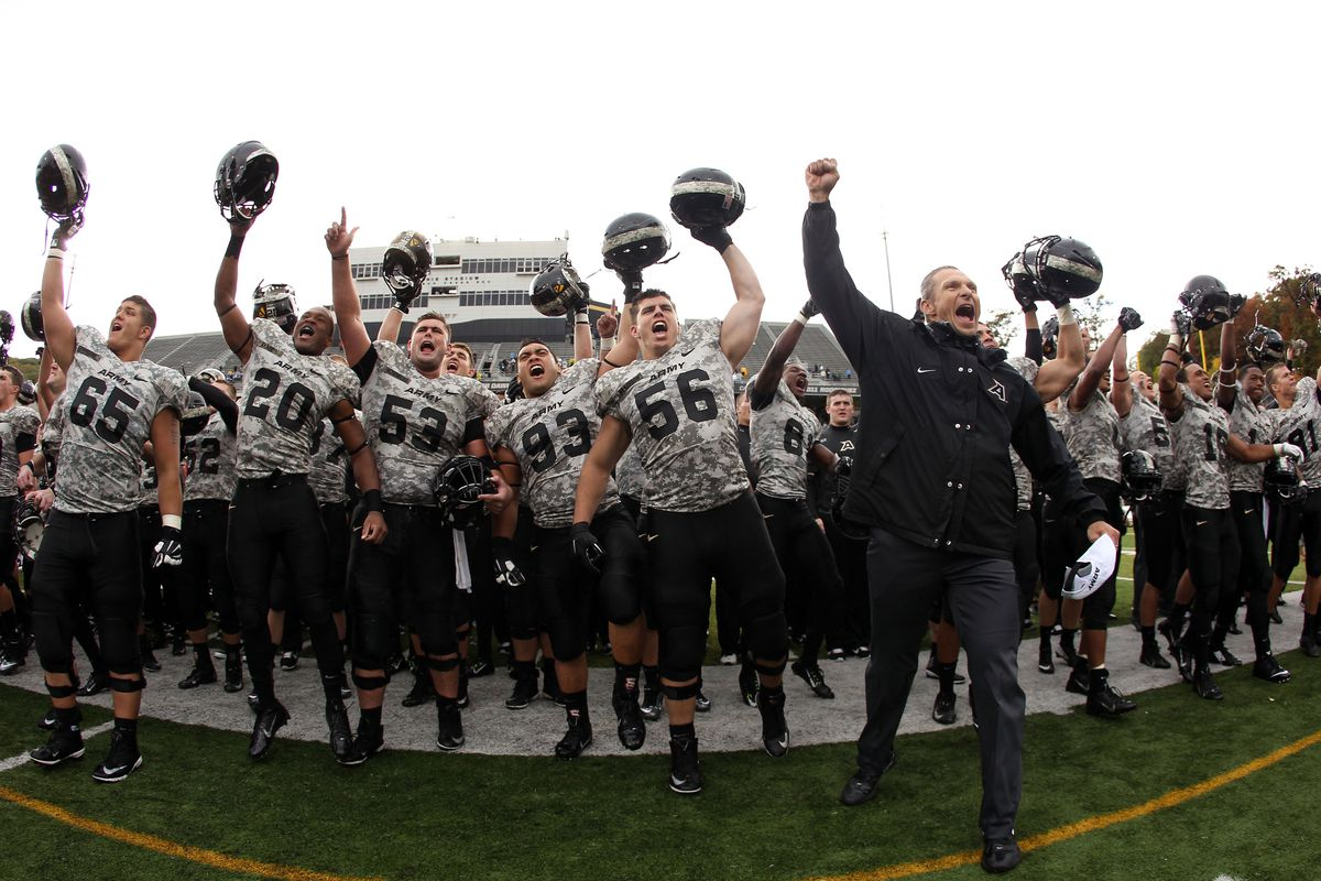 Army has avoided a 1-4 start with a victory against Ball State. Monken's Black Knights are still undefeated at home and host Rice next weekend.