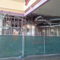 Construction on the 5,300-square-foot Denny's.