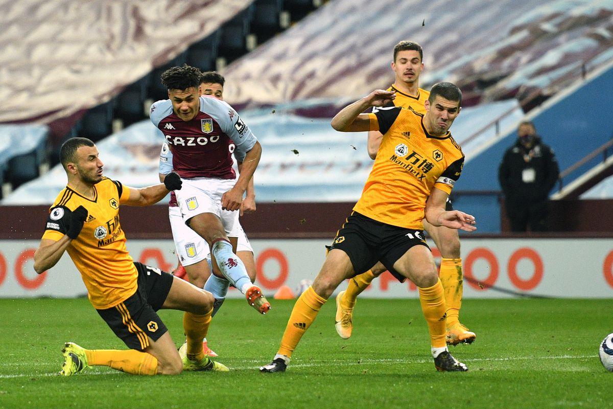 Aston Villa v Wolverhampton Wanderers - Premier League - Villa Park