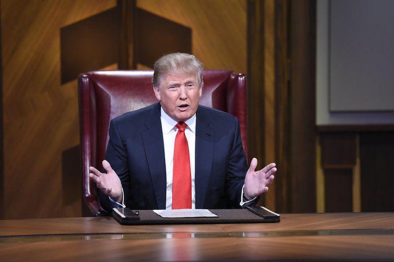 Donald Trump appears in the most recent season finale of The Celebrity Apprentice. (NBC)