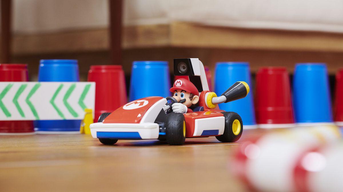 Mario Kart Live: Home Circuit looks like a magical mixed-reality trick - Polygon