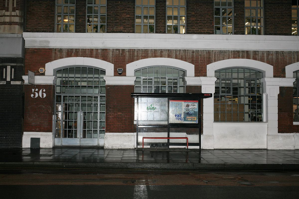 Lyle's on Bethnal Green Road, Shoreditch, closed during the coronavirus lockdown in London