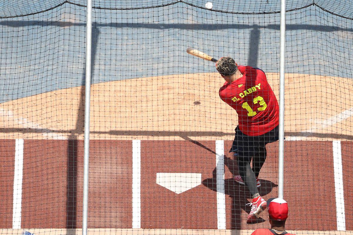 MLB: Washington Nationals-Workouts