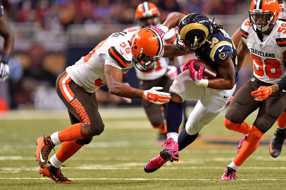 NFL: Cleveland Browns at St. Louis Rams