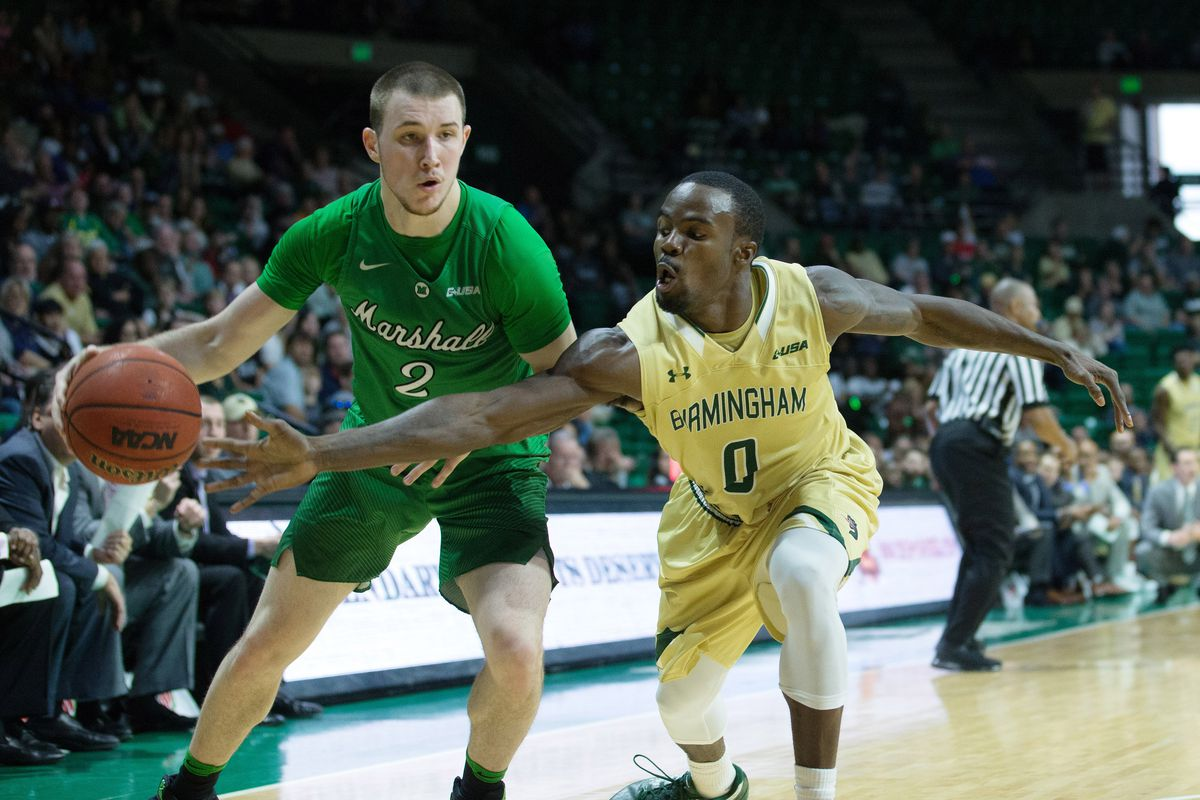 NCAA Basketball: Marshall at UAB
