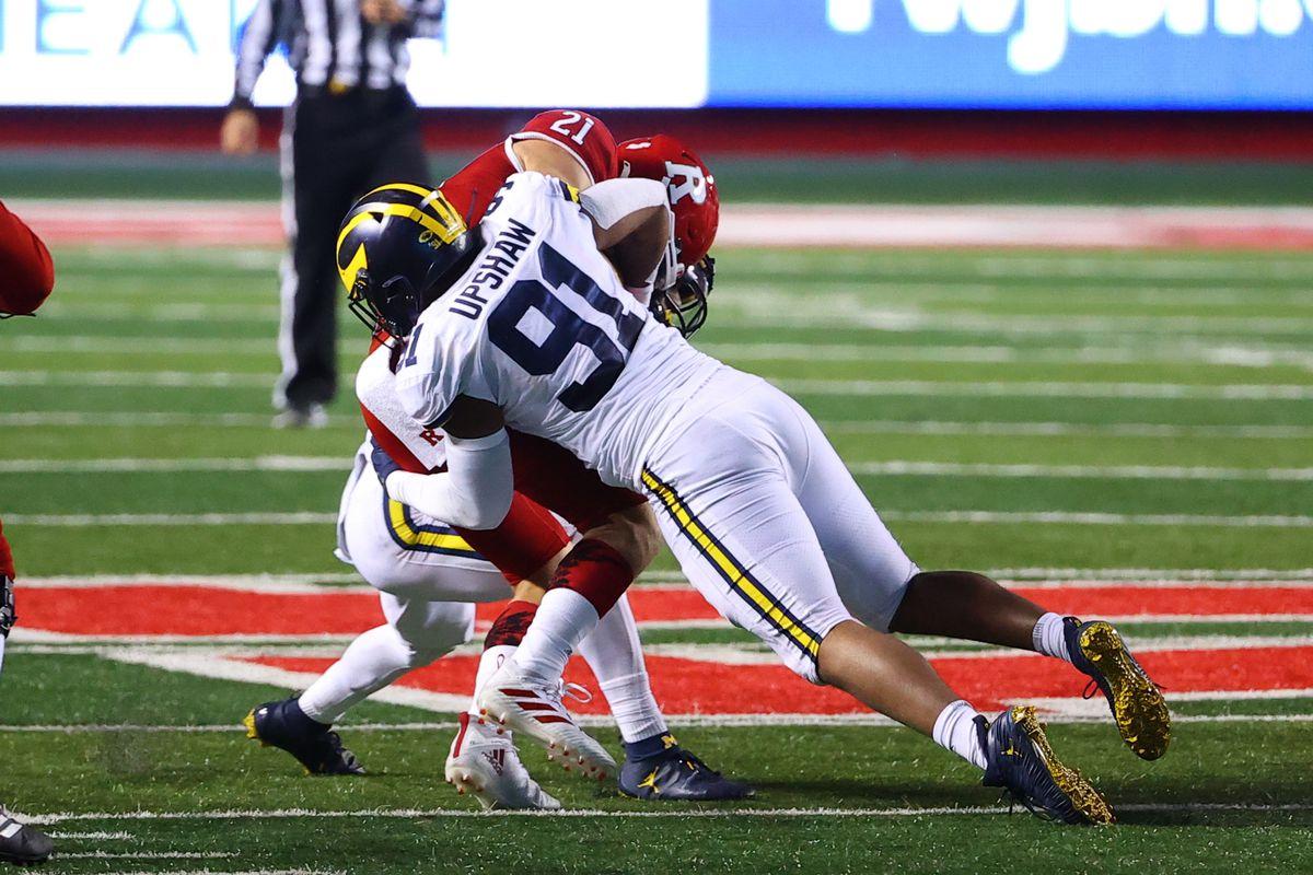COLLEGE FOOTBALL: NOV 21 Michigan at Rutgers