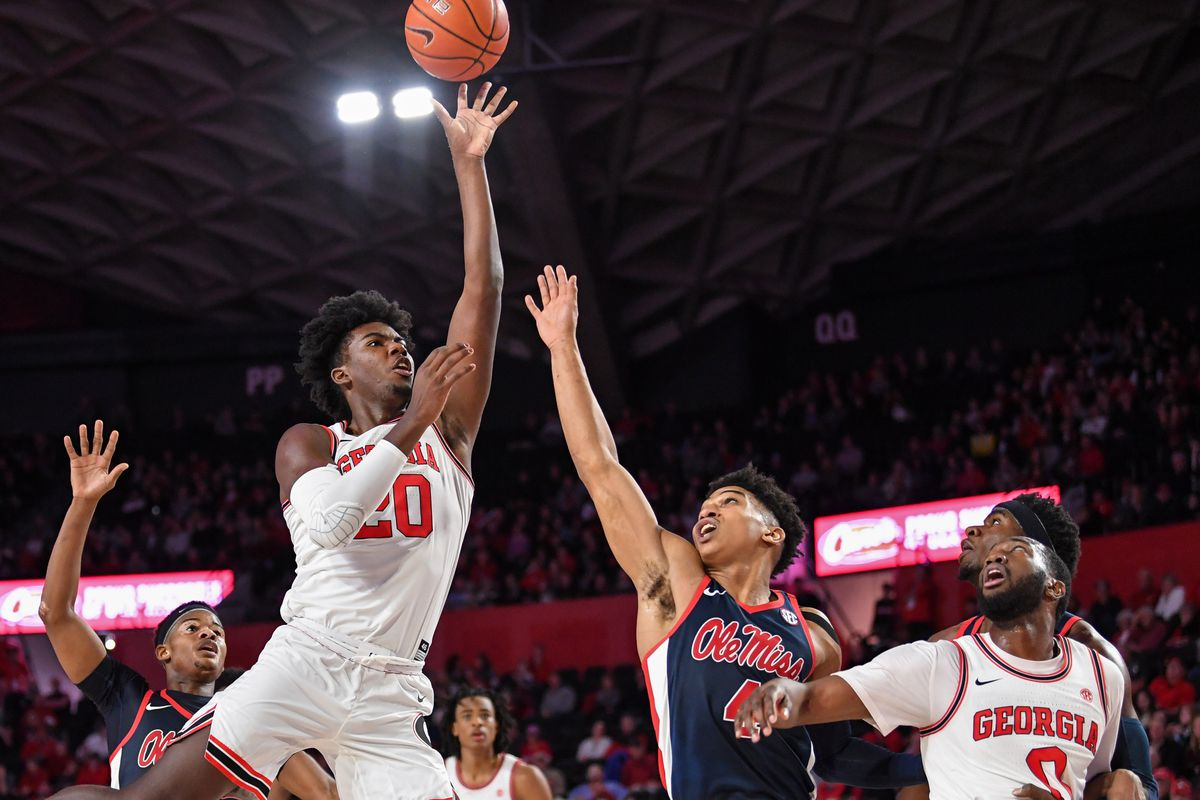 NCAA Basketball: Mississippi at Georgia