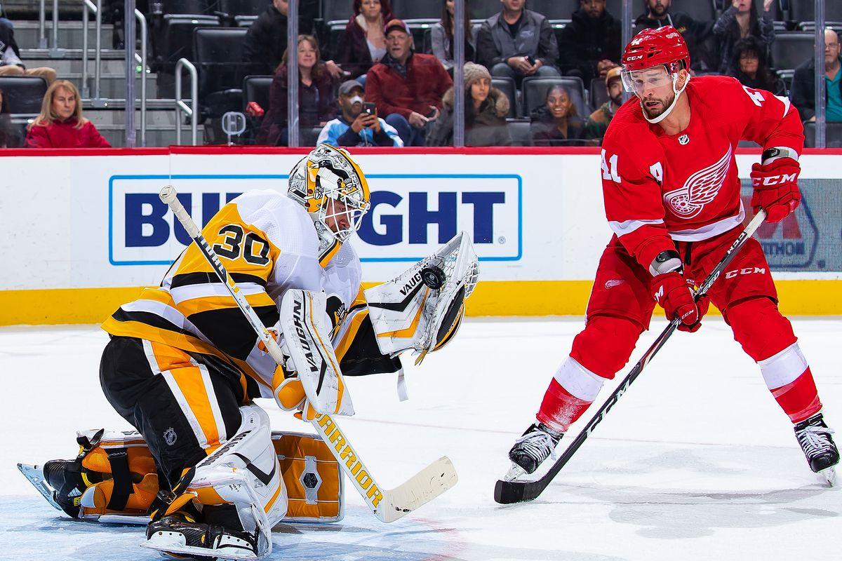 Pittsburgh Penguins v Detroit Red Wings