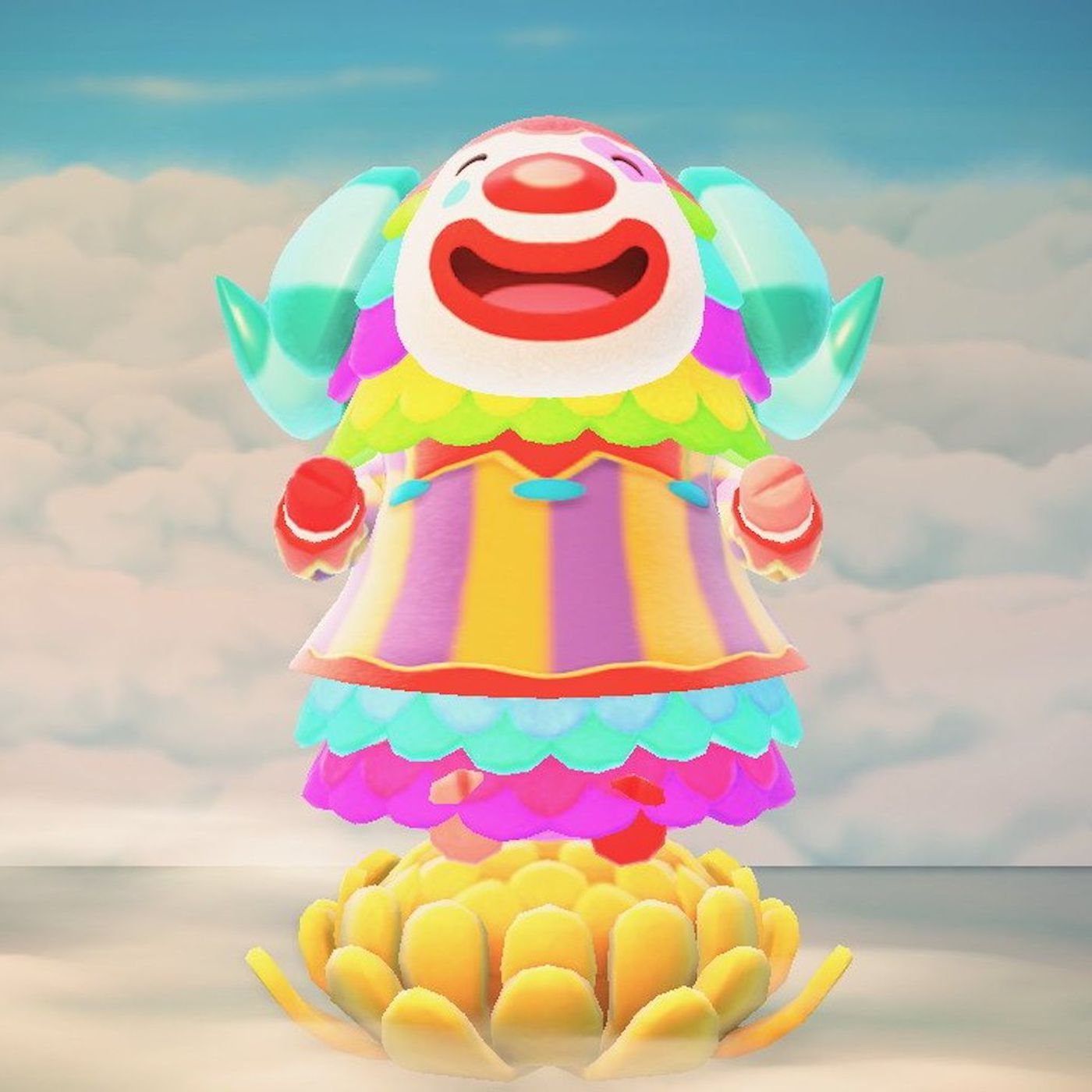 Animal Crossing: New Horizons fans defend Pietro the hated clown - Polygon