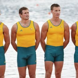 Aussie rowers quadruples: Photo by Harry How/Getty Images