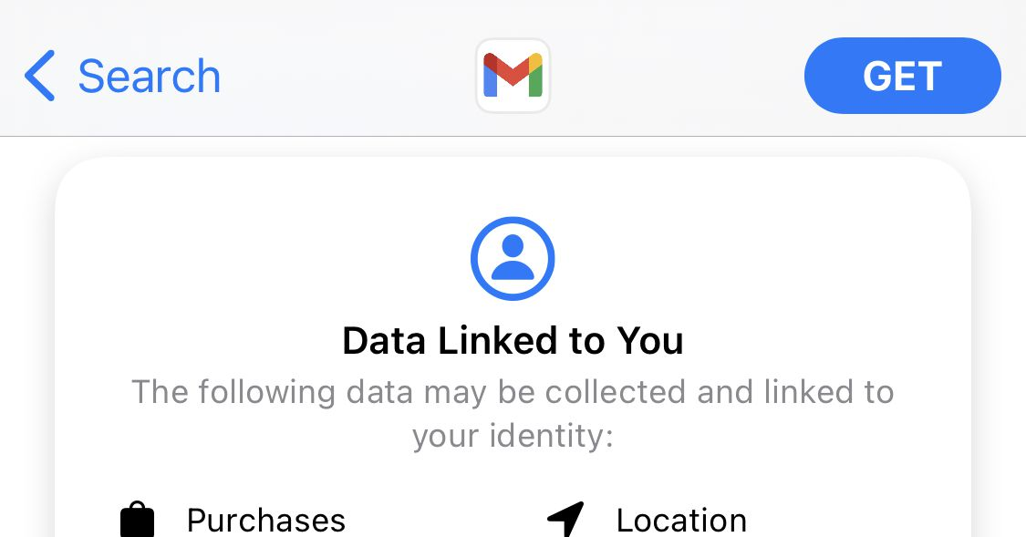 Google has finally added iOS's privacy labels to Gmail thumbnail