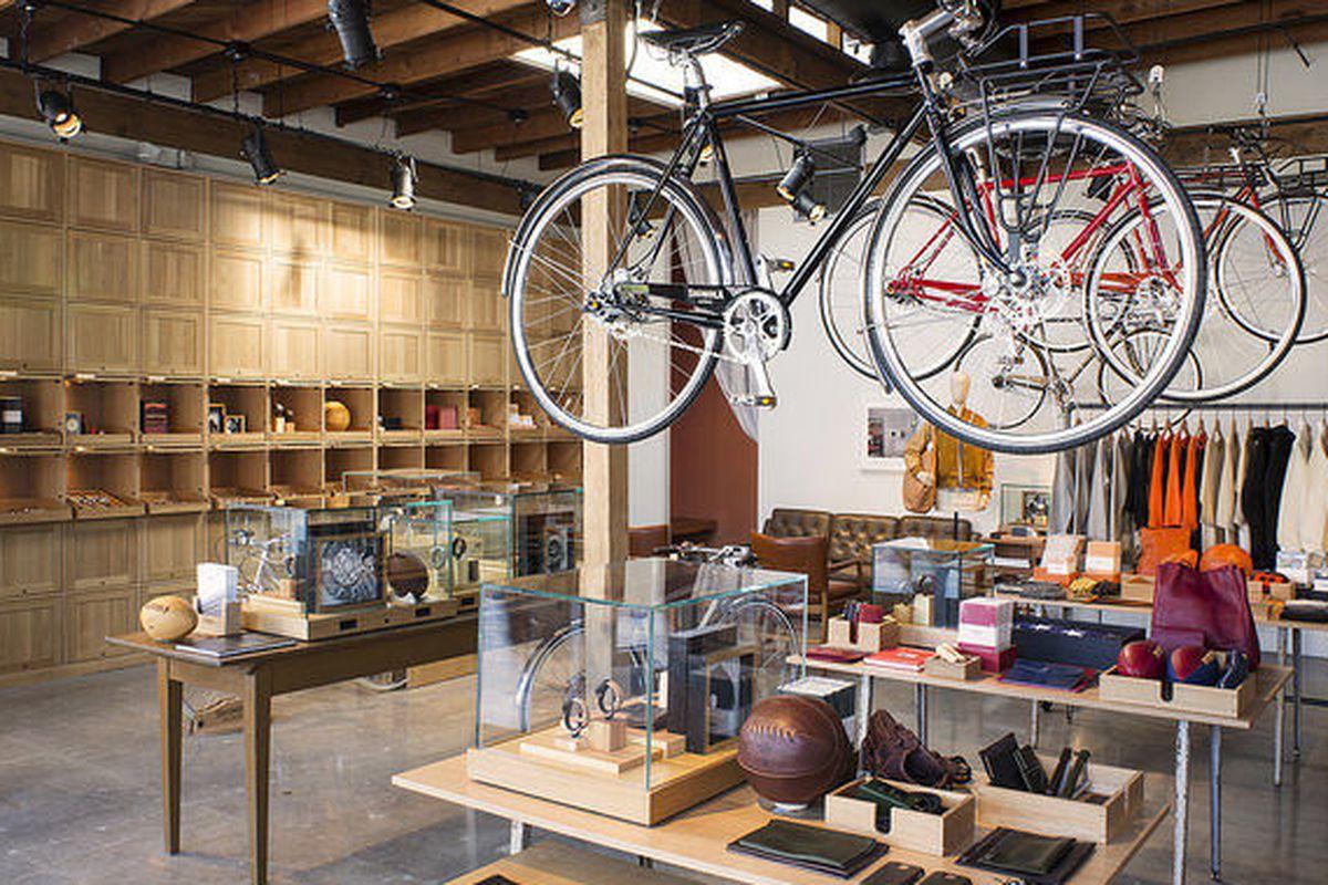 """Shinola's <a href=""""http://la.racked.com/2014/11/24/7567499/danielle-tk-49#4382794"""">Silver Lake boutique</a>."""