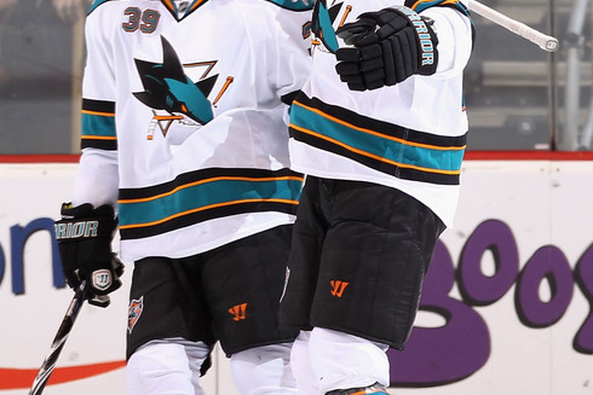 <em>Bridge contracts for players like Couture and Clowe allow San Jose to sign their RFA's at reasonable prices.</em>