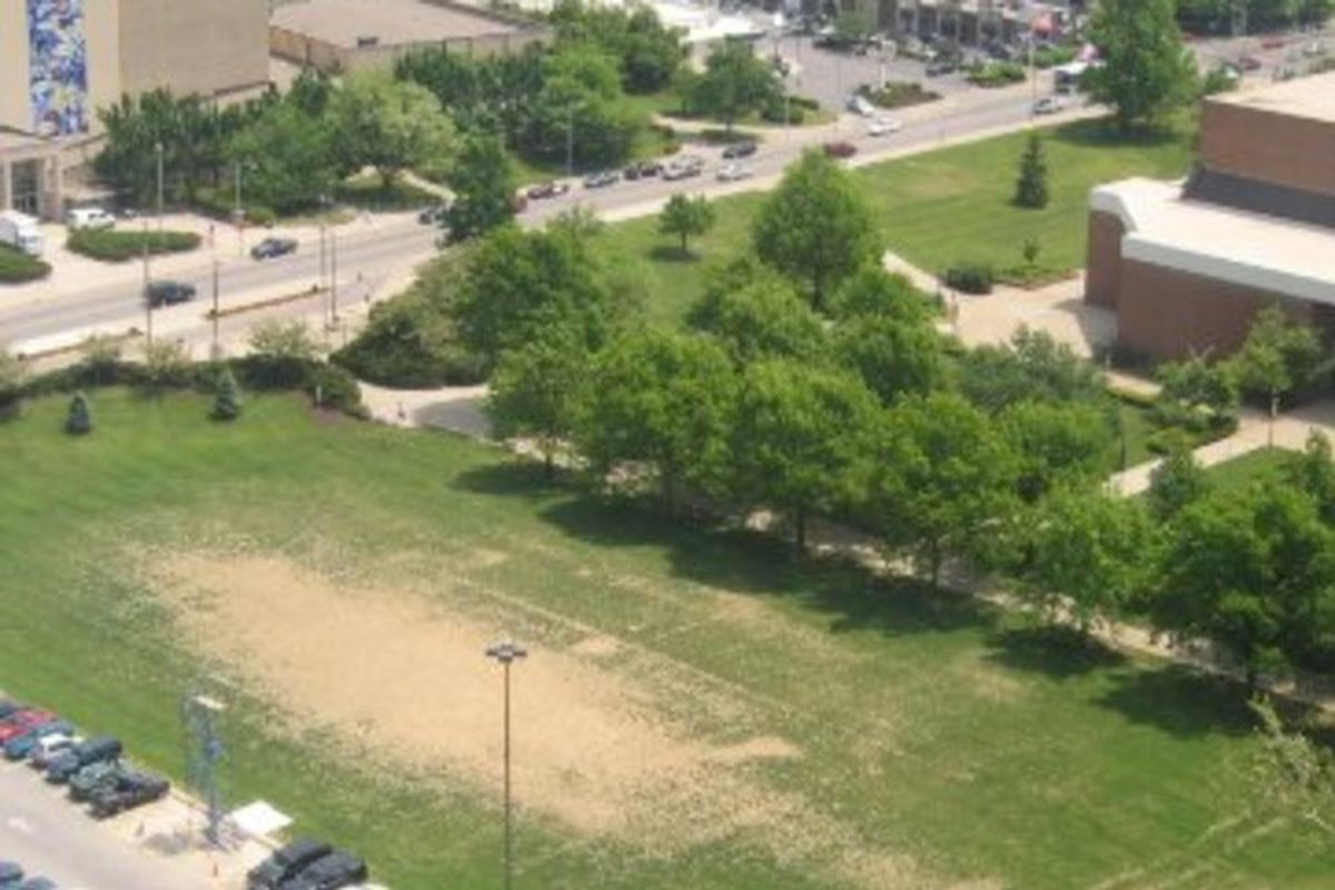 Site of Stoll Field and McLean Stadium