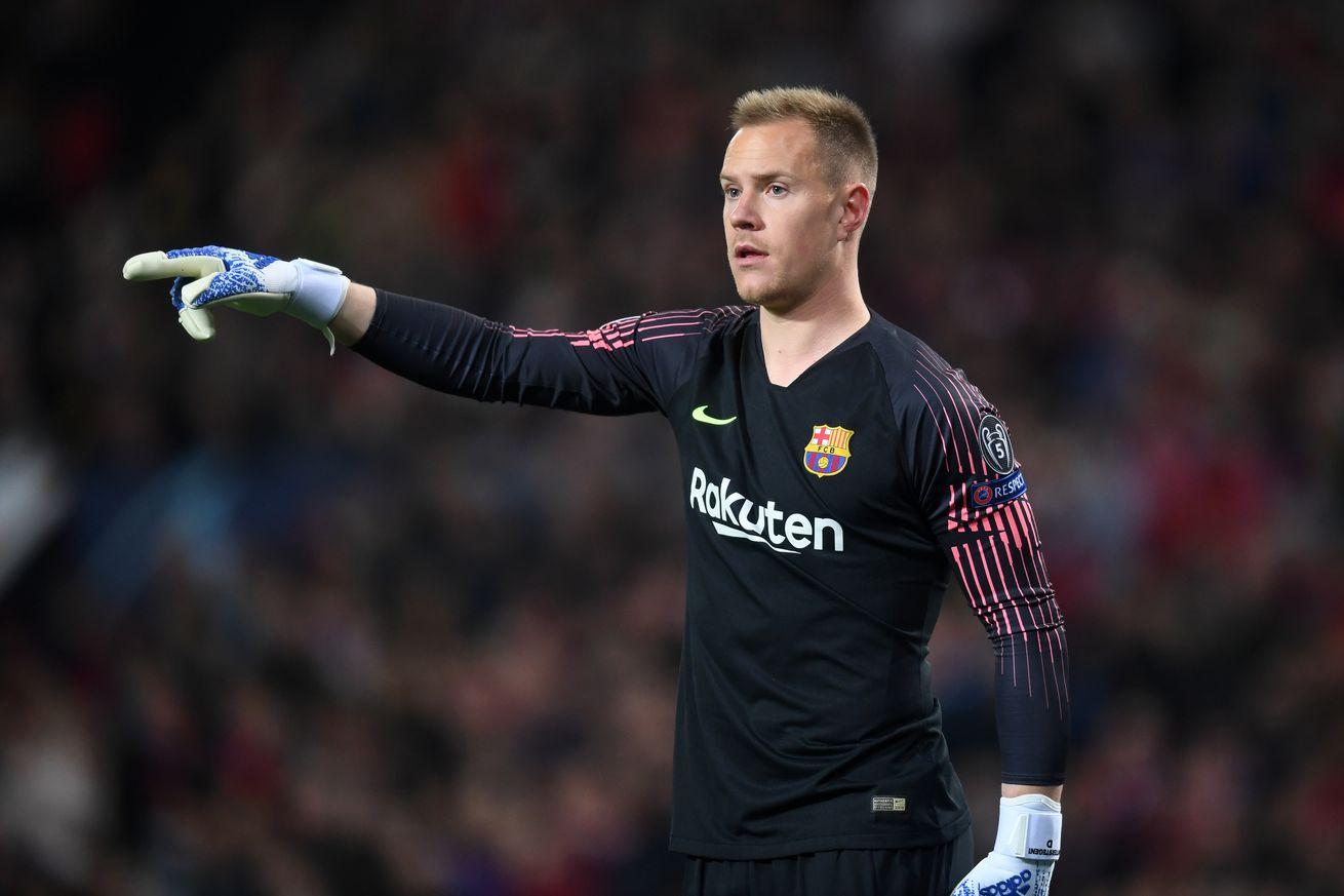 Ter Stegen: Barca want to ?dominate the game? against Man Utd