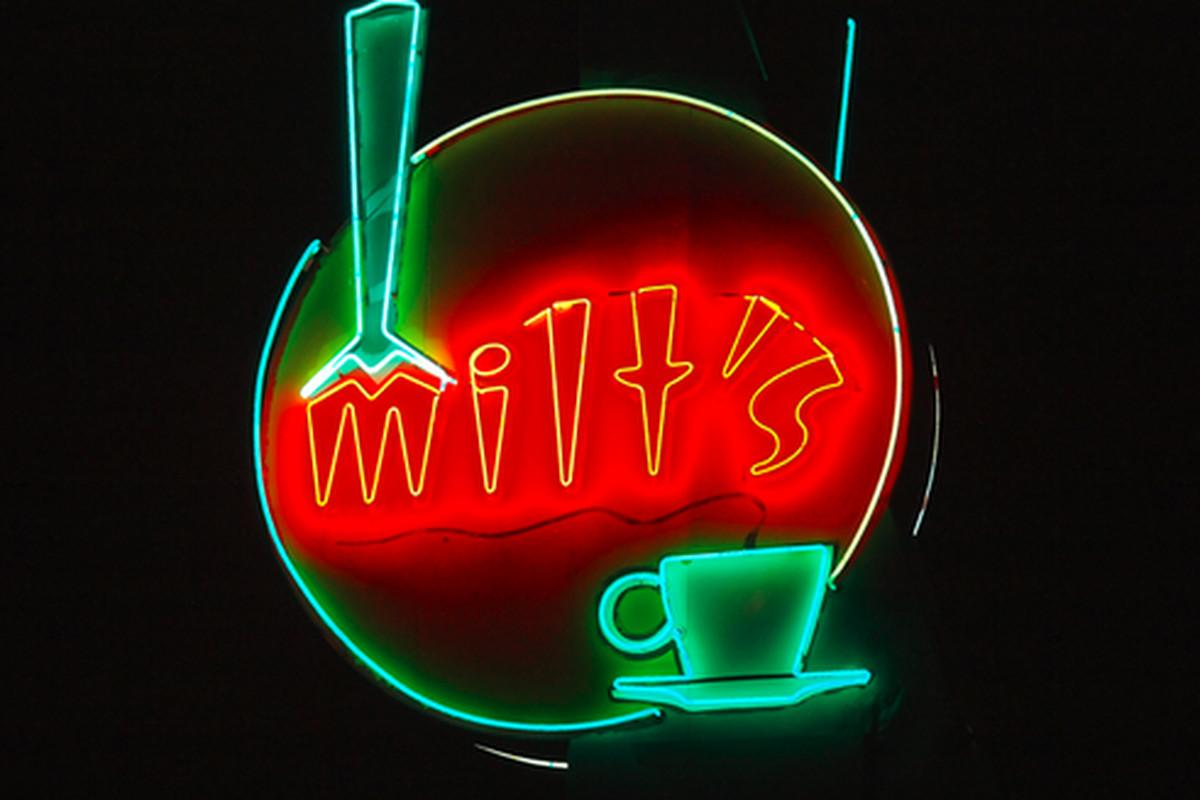 Milt's Coffee Shop, Bakersfield.