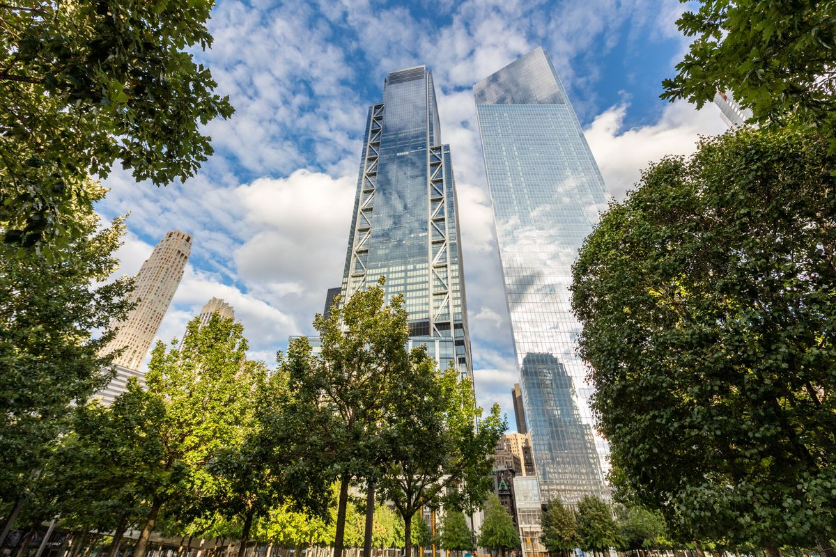 World Trade Center construction in New York City: photos
