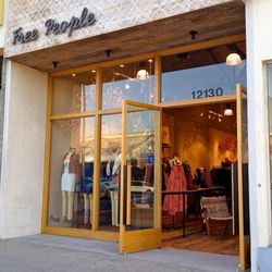 """Just a few steps away is Free People (12130 Ventura Blvd), aka the land of beach-ready hippie threads. Get your Coachella wardrobe sorted here, and be sure to return on Friday, March 28 for their festival-themed <a href=""""http://la.racked.com/archives/2014"""