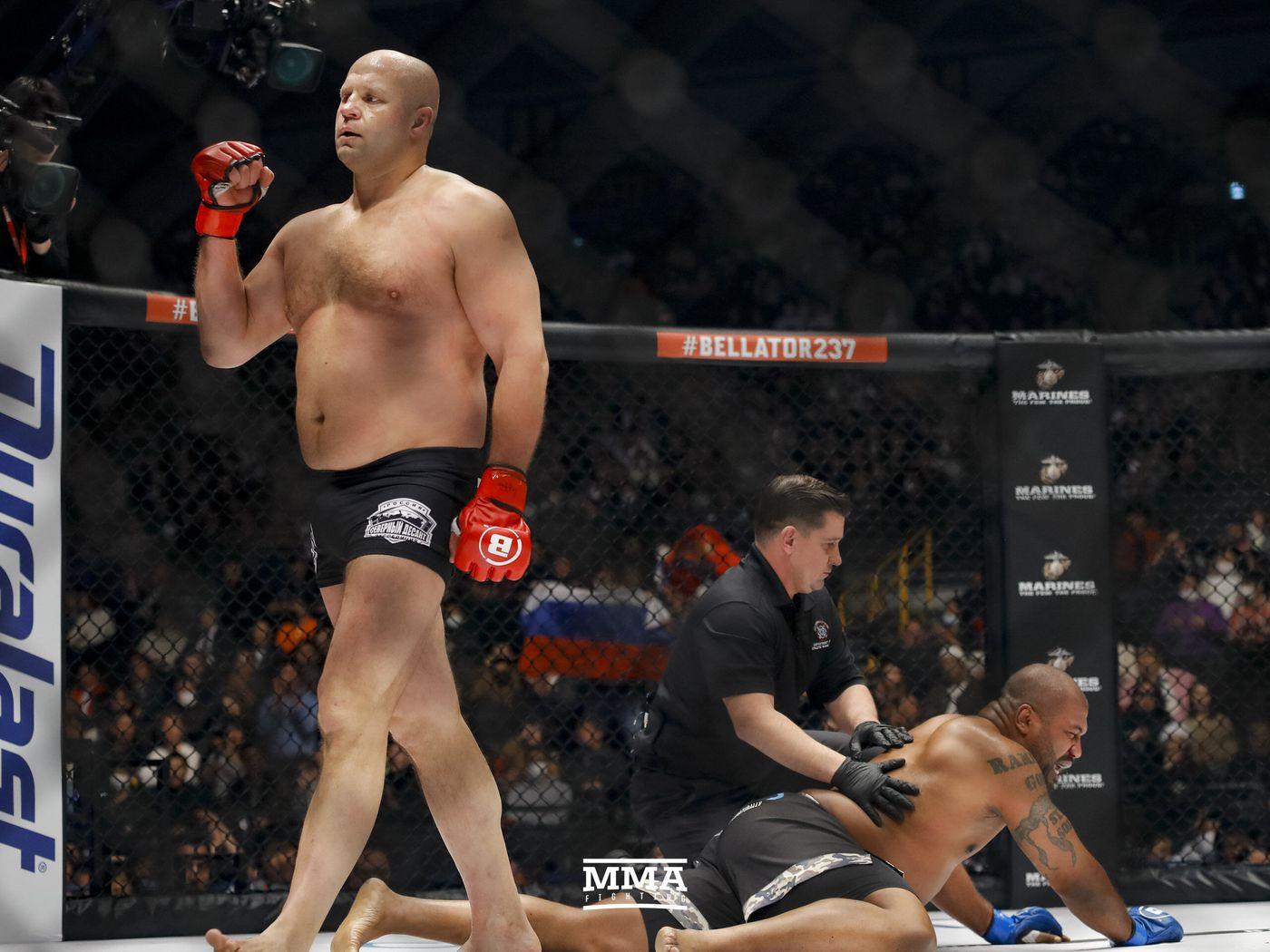 Fedor Emelianenko Knocks Out Rampage Jackson Announces Possible