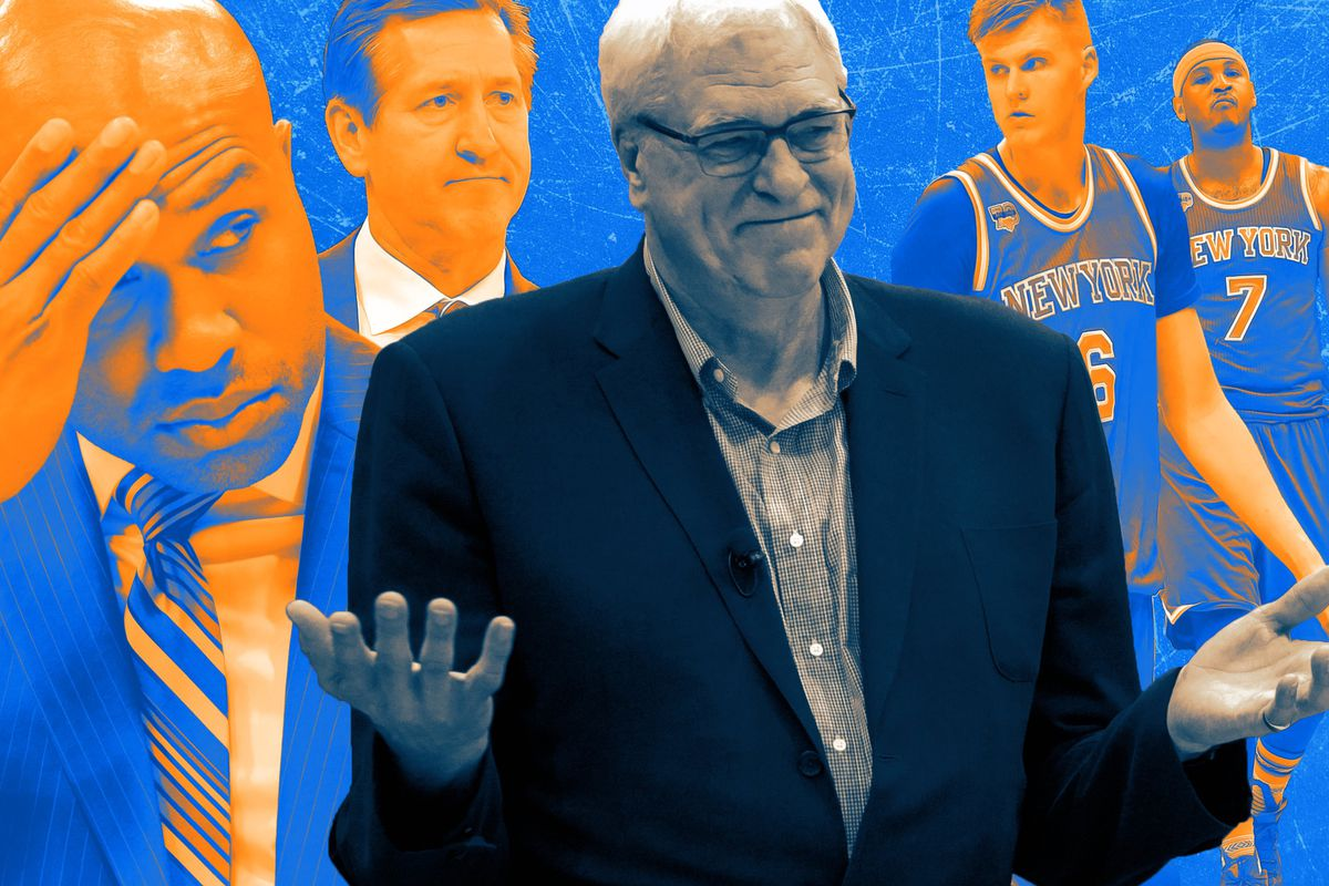 e037d0309825 A Horrifying Timeline of Everything Phil Jackson Did in 39 Months With the  Knicks