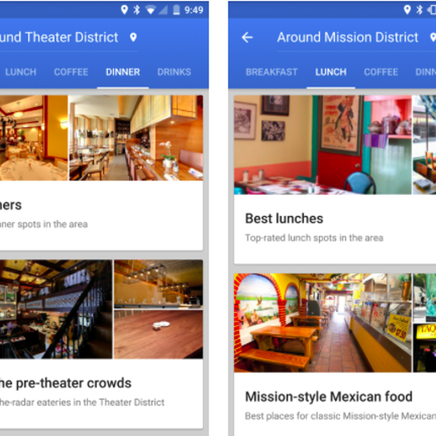 Google Maps Wants to Give You Restaurant Recommendations - Eater