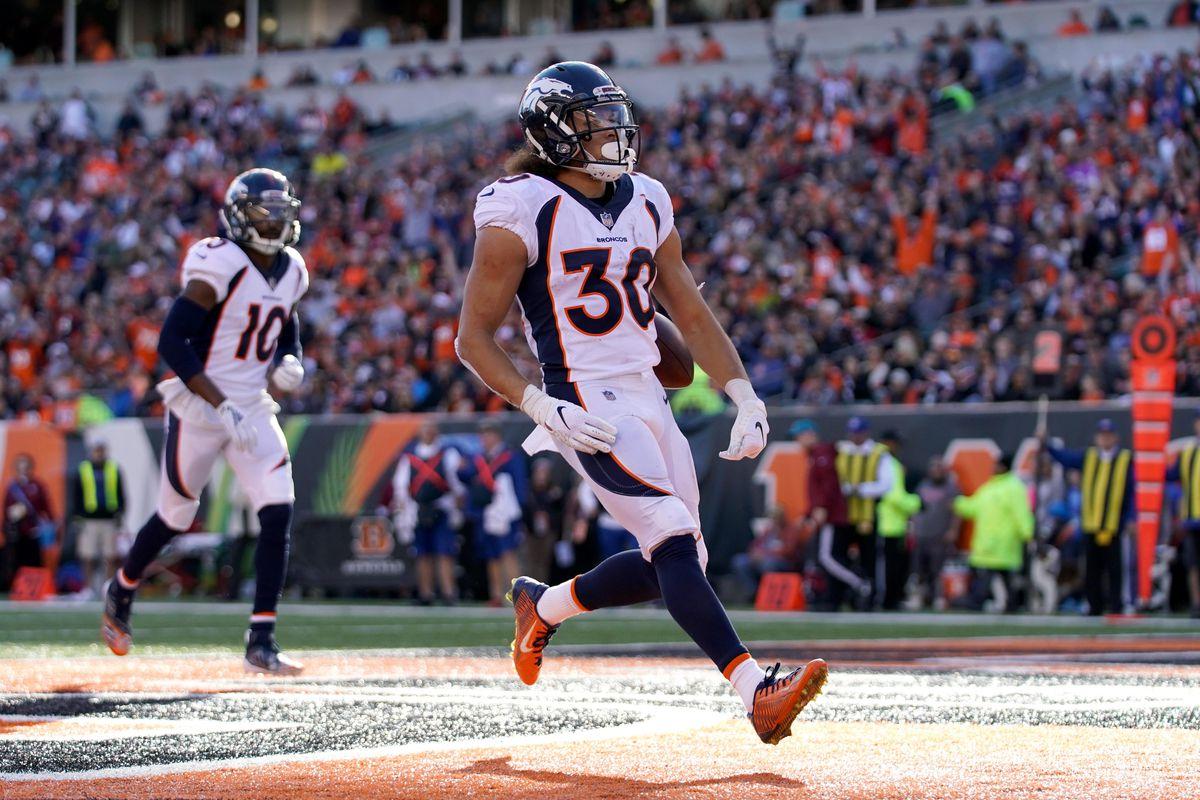 pretty nice c03af 4b830 NFL  Denver Broncos at Cincinnati Bengals