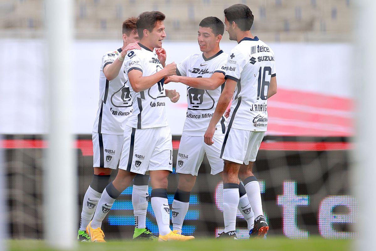 Pumas UNAM v Mazatlan FC - Torneo Guard1anes 2021 Liga MX