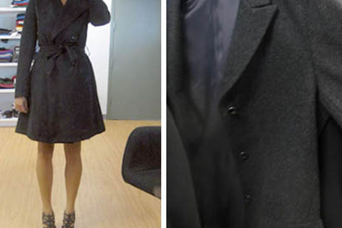 """A trenchcoat from +J.  Images via <a href=""""http://www.luckymag.com/blogs/luckyrightnow/2009/08/countdown-to-jil-sander-x-uniq.html"""">Lucky</a>"""