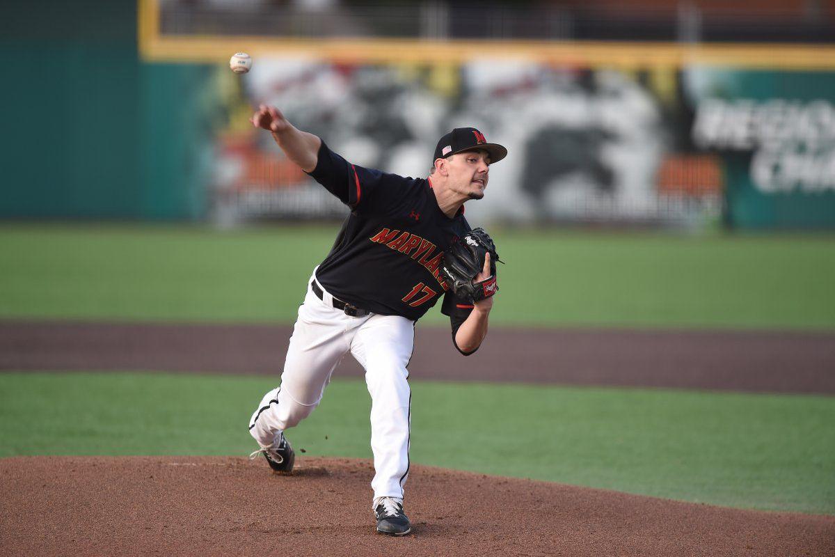 Maryland baseball Hunter Parsons vs. Indiana