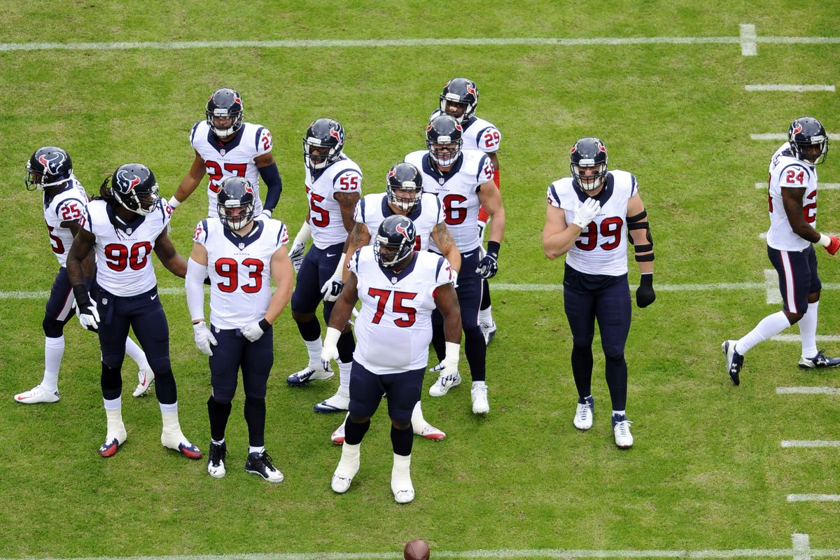 """Texans enforcing the """"No Fly Zone!"""""""