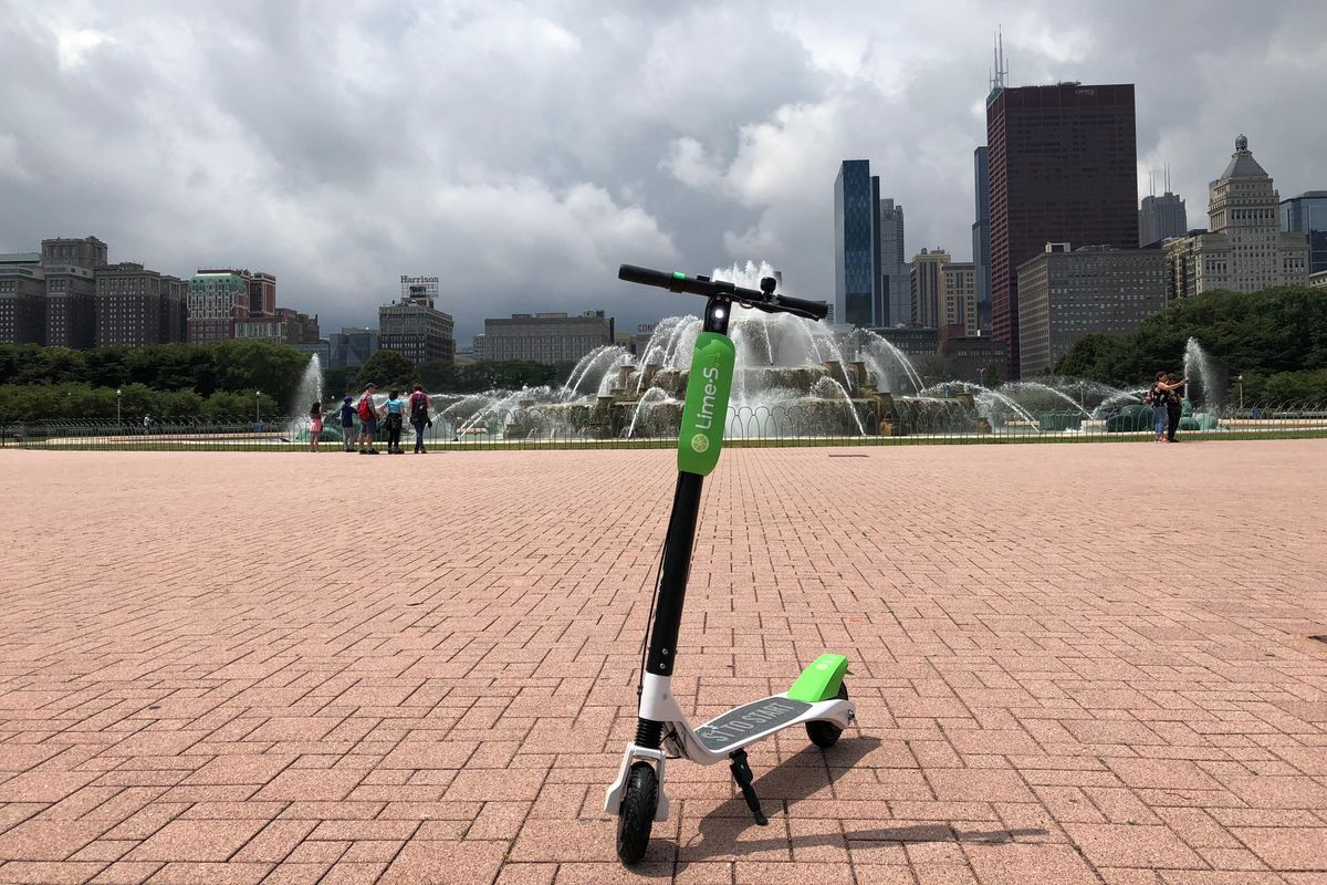 Dockless Electric Scooters Are Coming To Chicago Curbed