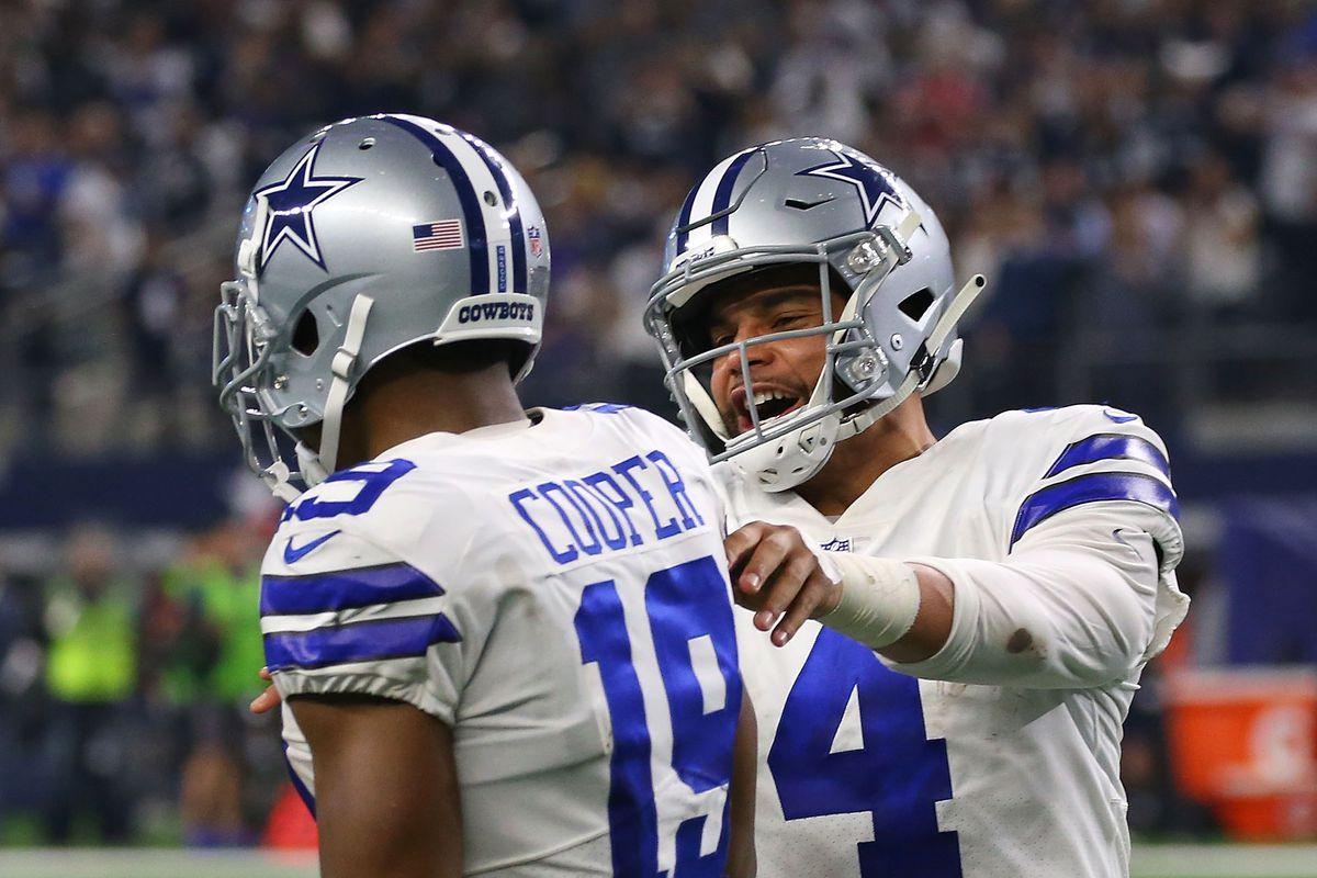 26056e9acad Cowboys news: SVP Stephen Jones says Cowboys ramping up contract talks with  Dak Prescott & Amari Cooper