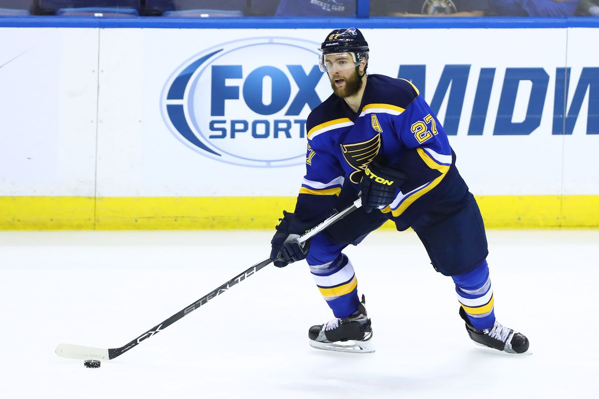 save off 87d9e 58d8c Put The Captain Patch on Alex Pietrangelo - St. Louis Game Time