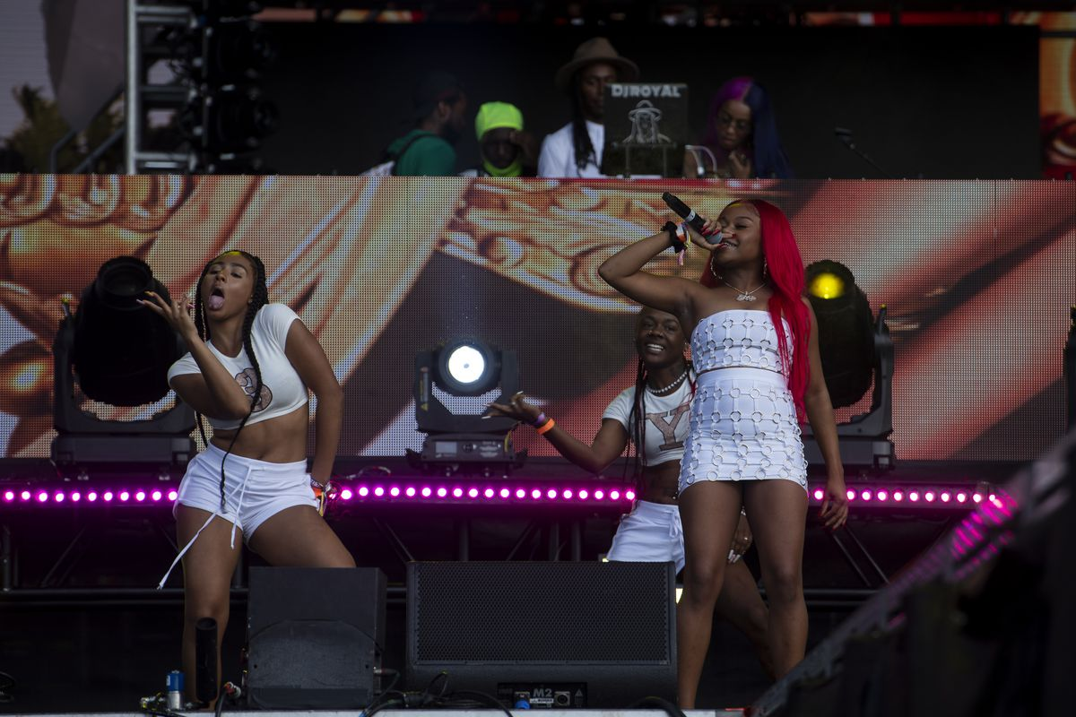 Queen Key performs on day two of the Summer Smash Festival.