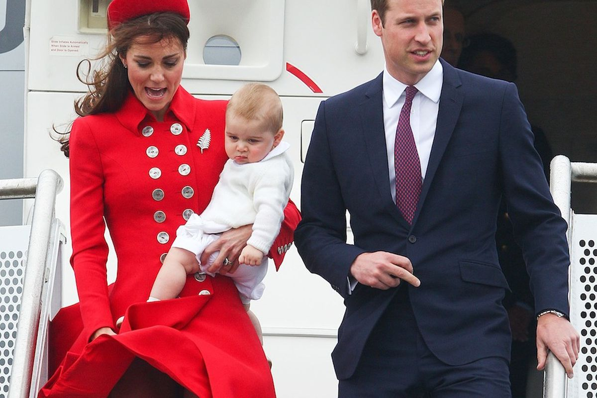 First stop on the royal tour, via Getty