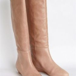 Matilde Tortora Boots, Loeffler Randall, $695<br />We've been anxiously awaiting the arrival of these stunning boots by Loeffler Randall and they're finally here! The classic 'Matilde' has been reinvented in gorgeous nude Vachetta leather to make your leg