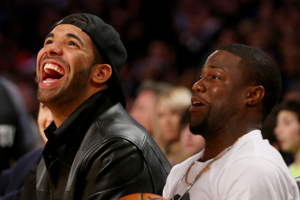NBA All-Star Game 2014, Kevin Hart, Drake